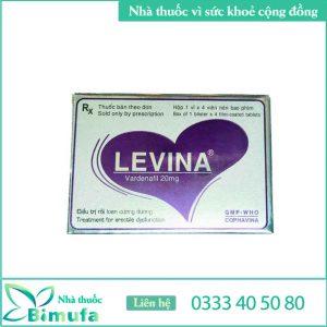 Thuốc rối loạn cương dương Levina 200mg