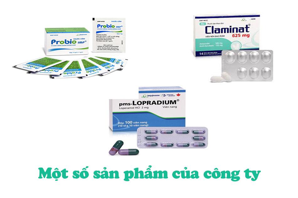 Các sản phẩm nổi bật của công ty CP Dược Phẩm Imexpharm