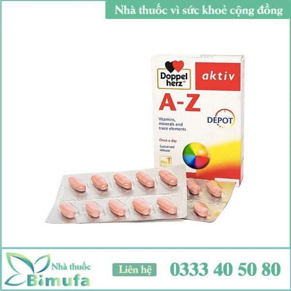 Vỉ thuốc AZ Multivitamin