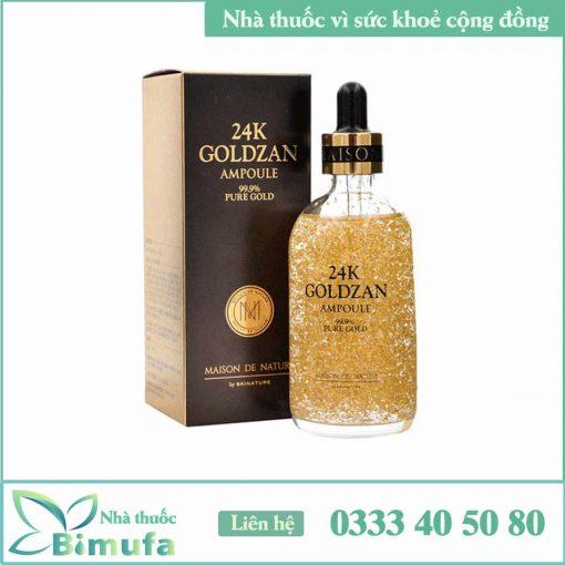 24k Goldzan Ampoule