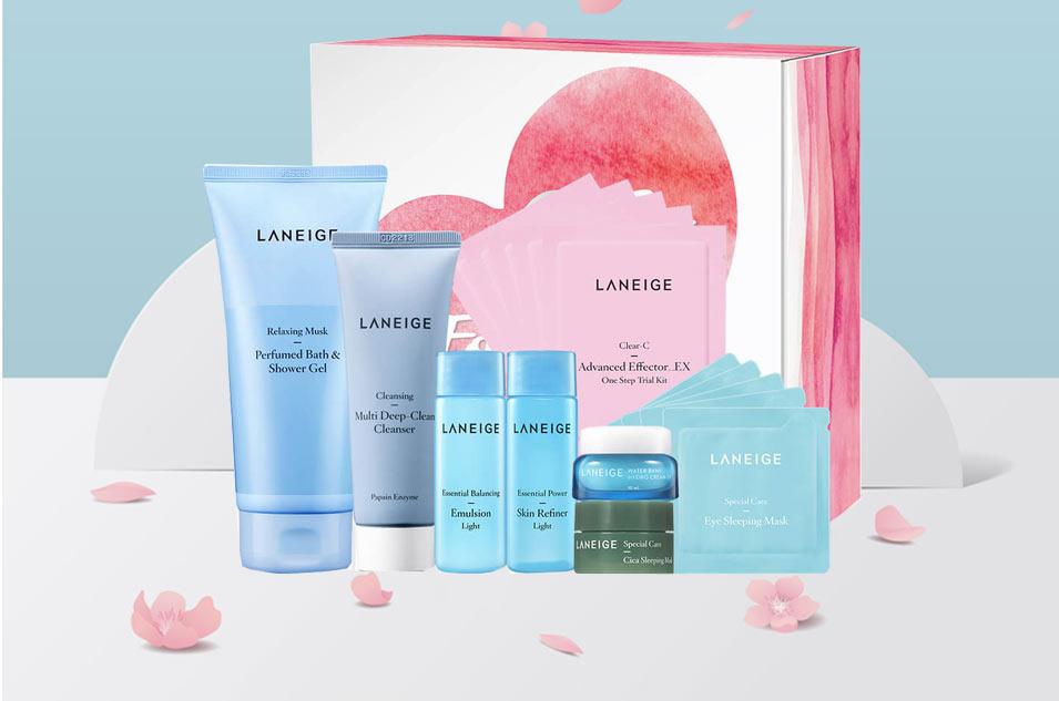 Bộ mỹ phẩm của Laneige có những gì?