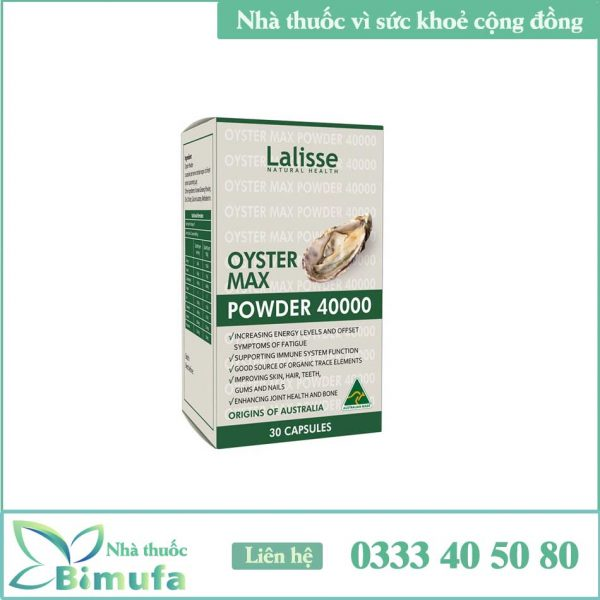 Lalisse Oyster Max Powder