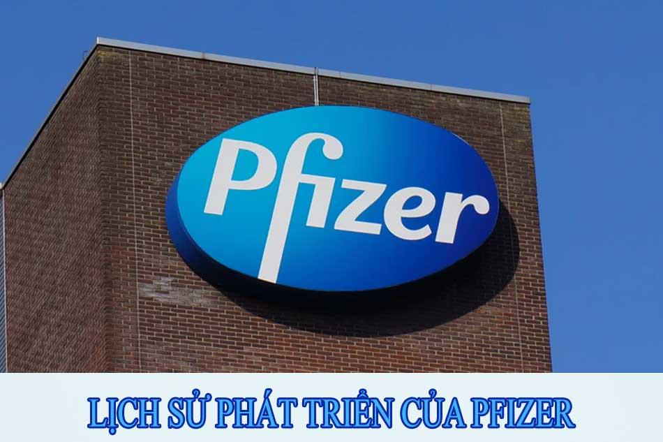 Lịch sử phát triển của Pfizer
