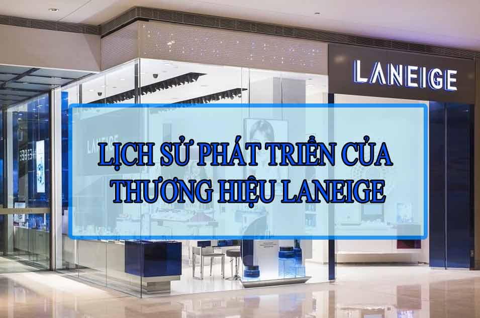 Lịch sử phát triển của thương hiệu Laneige