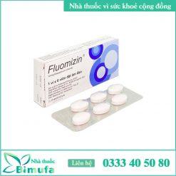 hình ảnh thuốc fluomizin 10mg