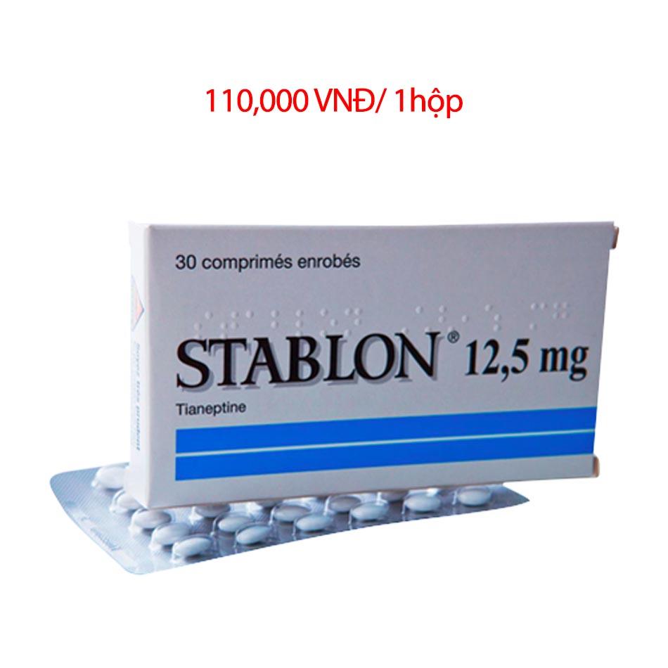 Giá bán sản phẩm thuốc Stablon 12,5mg