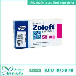 Hình ảnh thuốc Zoloft 50mg