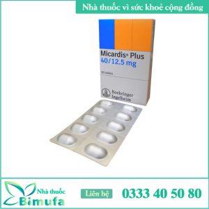 Hình ảnh thuốc Micardis Plus 40/12,5mg