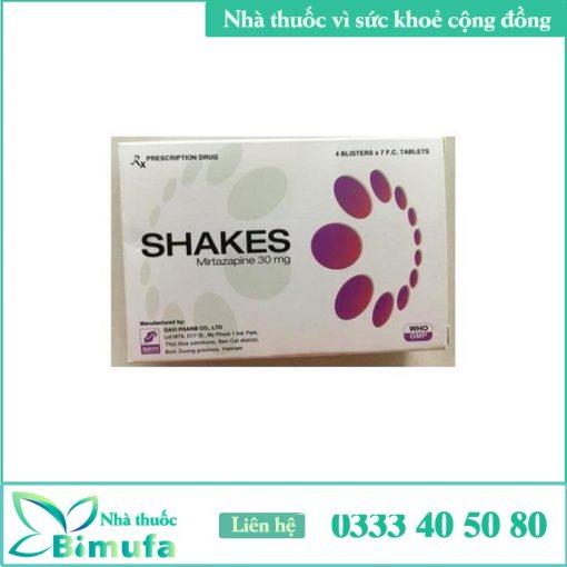 Hình ảnh thuốc Shakes 30mg