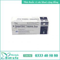 hình ảnh thuốcTanatril Tablets 5mg