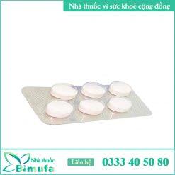 hình ảnh vỉ thuốc fluomizin 10mg