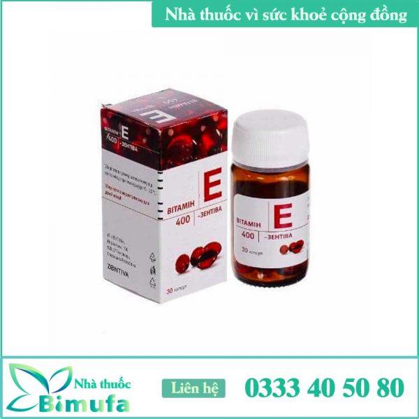 Hình ảnh Vitamin E đỏ