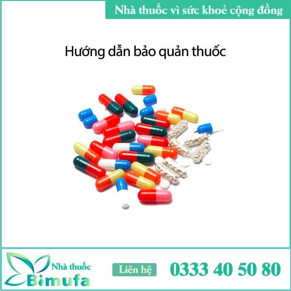Hướng dẫn bảo quản thuốc Shakes 30mg