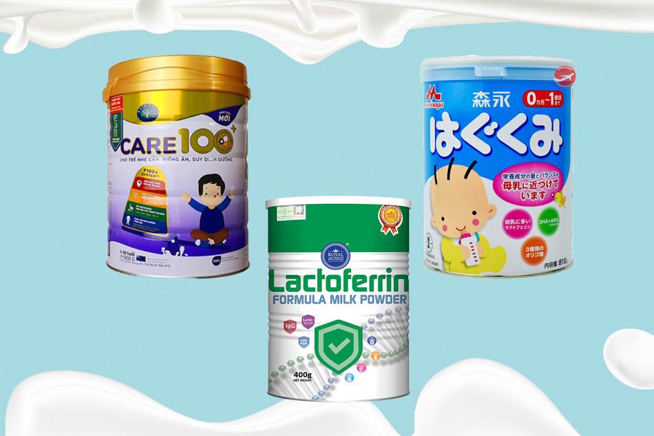 Các loại sữa có Lactoferrin tốt nhất hiện nay
