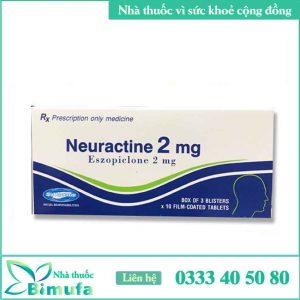 Neuractine 2mg là thuốc gì?