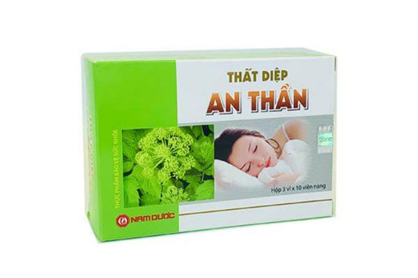 Hiện nay, giá bán của Thực phẩm chức năng Thất Diệp An Thần tại Bimufa là 70.000 VND/ hộp x 30 viên nang cứng