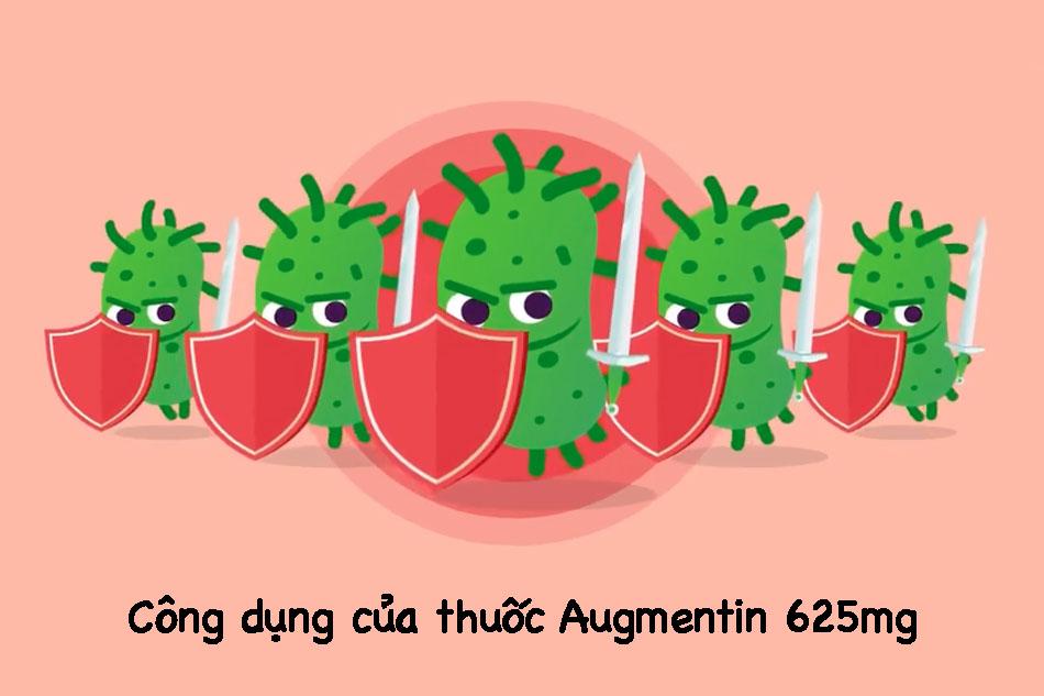 Công dụng của thuốc Augmentin 625mg