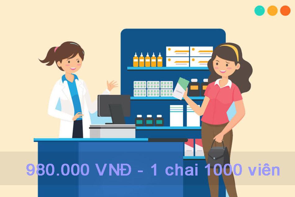 Thuốc Apo - Amitriptyline 25mg có giá bán bao nhiêu
