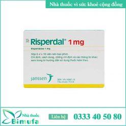 Hình ảnh thuốc Risperdal 1mg