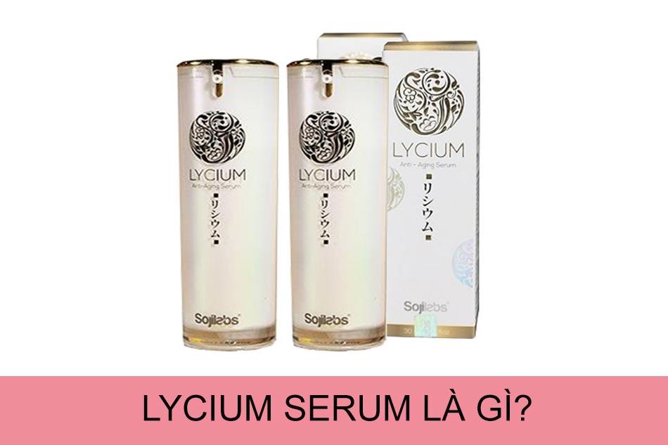 Lycium Serum là gì?