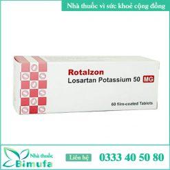 Hình ảnh thuốc Rotalzon 50mg