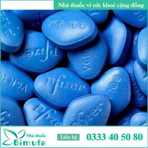 Hình ảnh viên thuốc Viagra 100mg