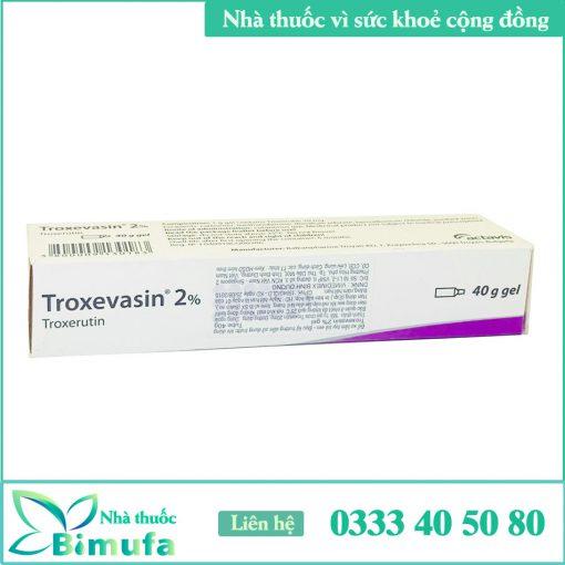 Hình ảnh thuốc Troxevasin 2%