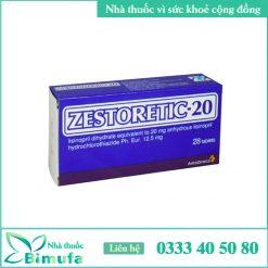 Hình ảnh thuốc Zestoretic 20mg