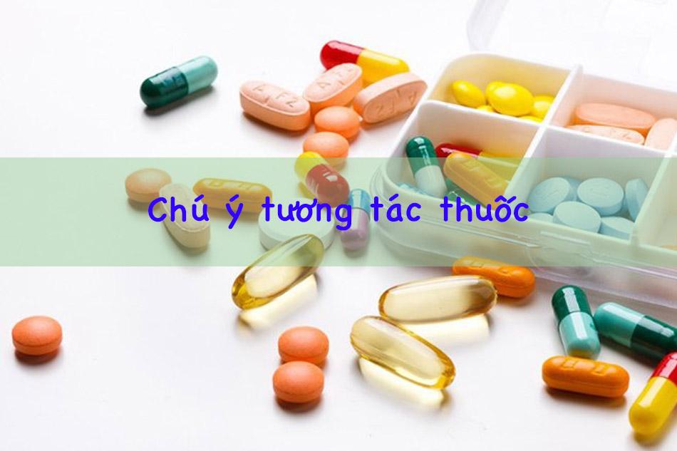 Chú ý tương tác thuốc của Viagra
