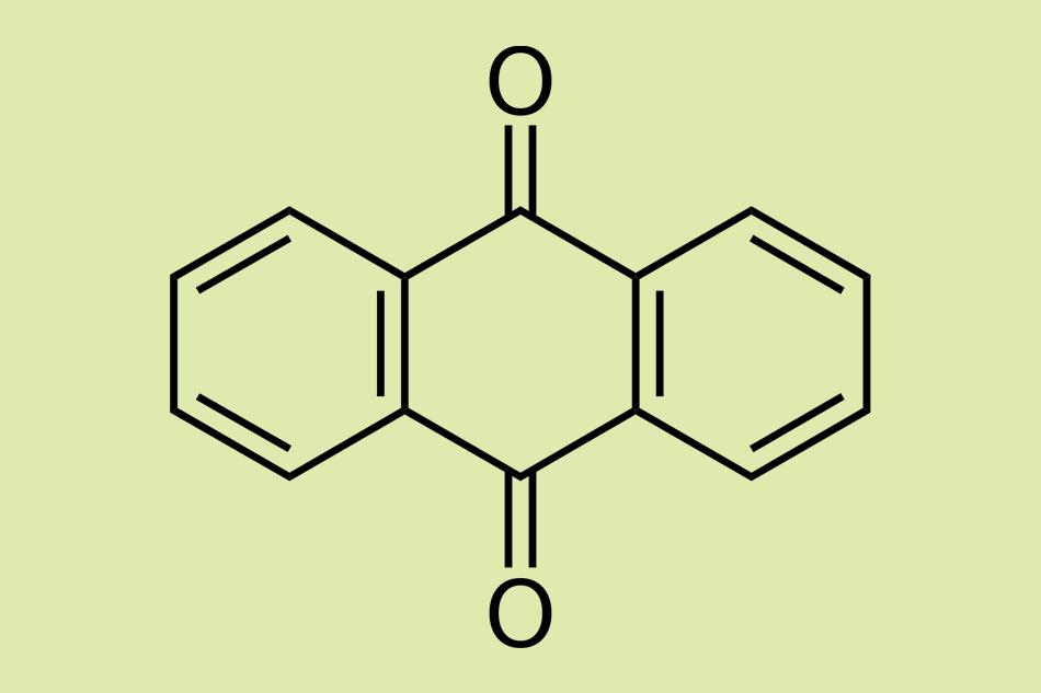 Công thức của Anthraquinone