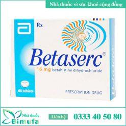 Hình ảnh thuốc Betaserc 16mg