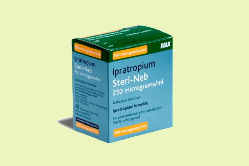 Thuốc Ipratropium bromide