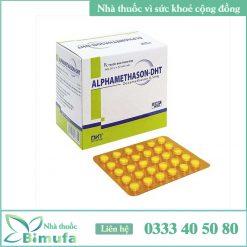 Hộp và vỉ thuốc Alphamethason-DHT