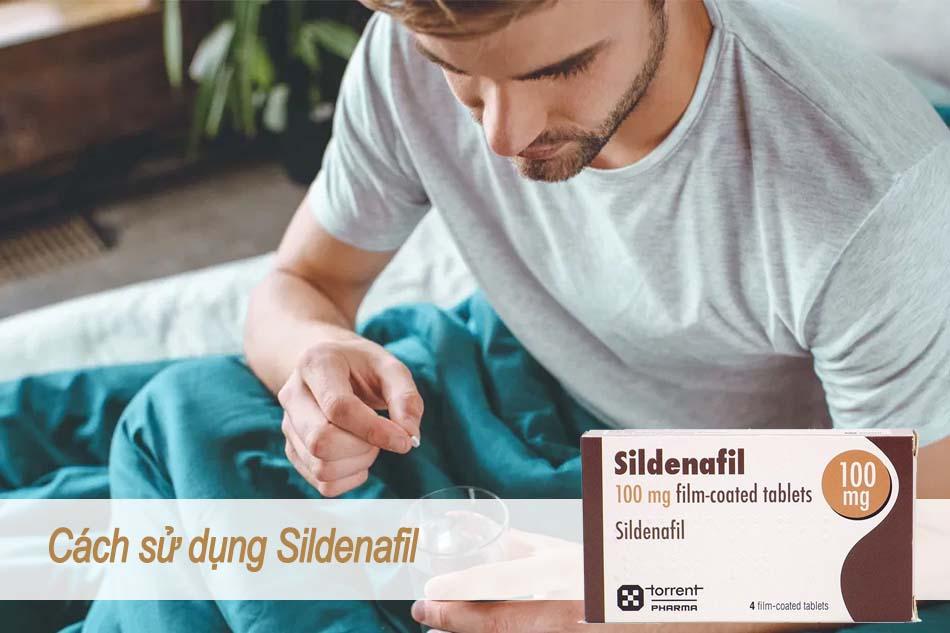 Cách sử dụng thuốc Sildenafil
