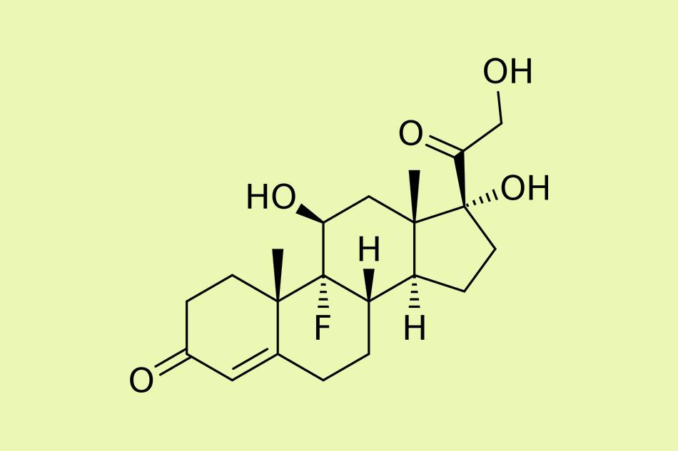 Cấu trúc hóa học của Fludrocortisone