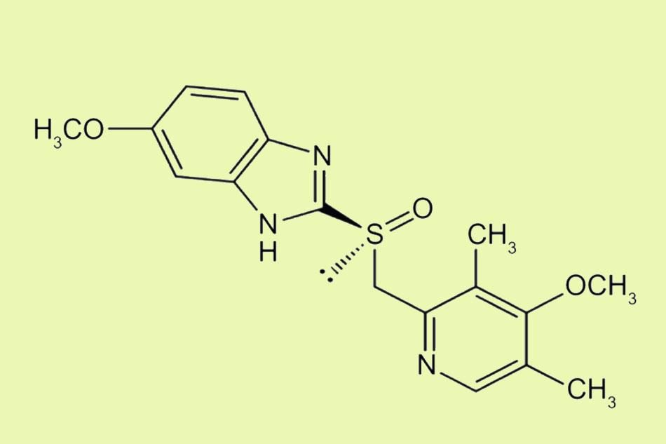 Cấu trúc hóa học của Esomeprazole