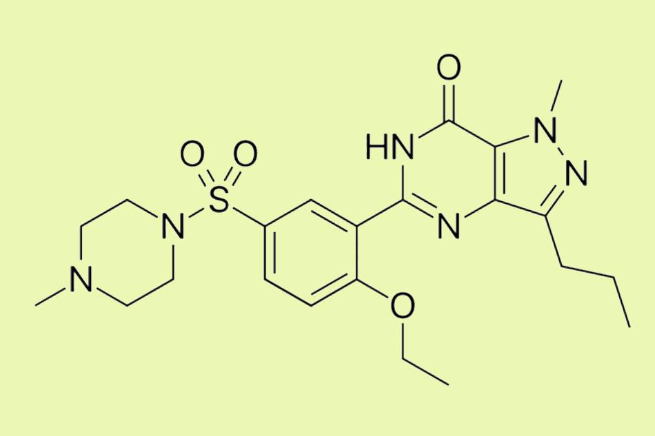 Cấu trúc hóa học của Sildenafil