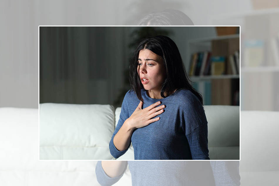Khó thở là một trong các triệu chứng của COPD