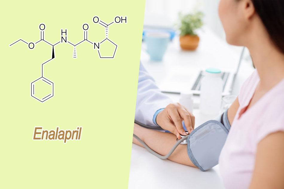 Enalapril được chỉ định cho bệnh nhân tăng huyết áp