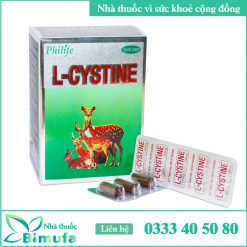 Hình ảnh L-cystine 500mg Hàn Quốc