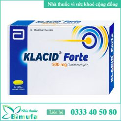 Hình ảnh thuốc KLACID FORTE 500mg