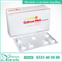 Hình ảnh thuốc Galvus Met 50mg/100mg