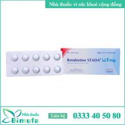 Hình ảnh thuốc Betahistine Stada 16mg