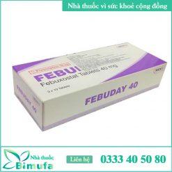 Hình ảnh thuốc Febuday