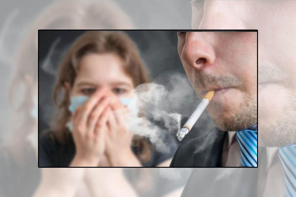 Khói thuốc lá có thể gây bệnh viêm phế quản