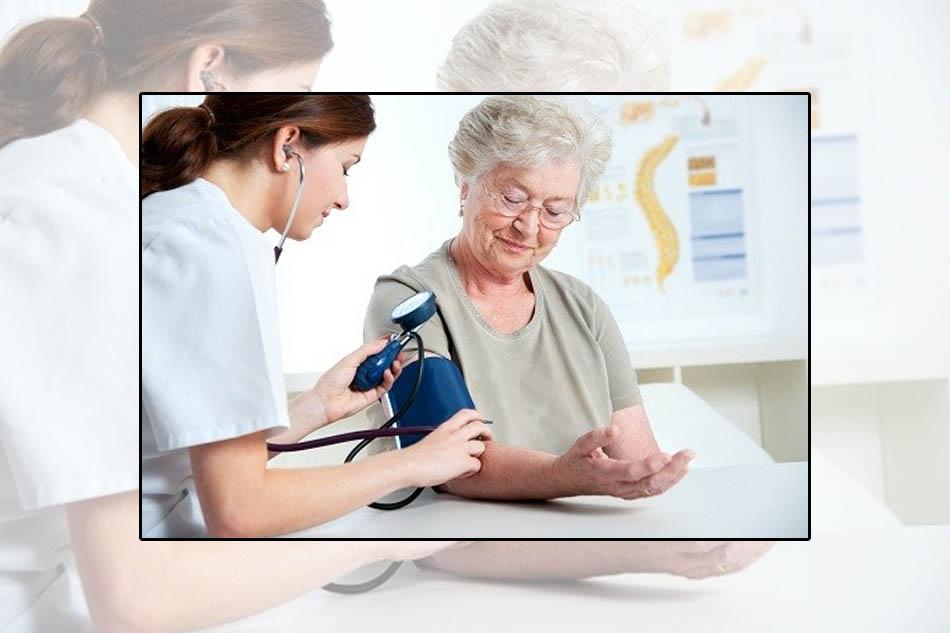 Người cao tuổi dễ bị tăng huyết áp