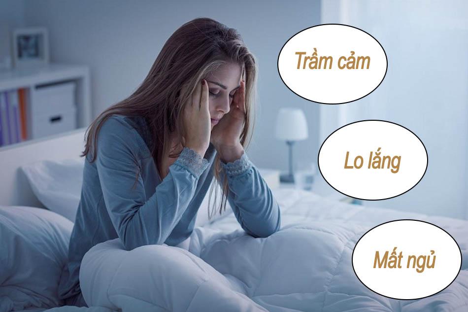 Enalapril gây tác dụng phụ trầm cảm, lo lắng, mất ngủ
