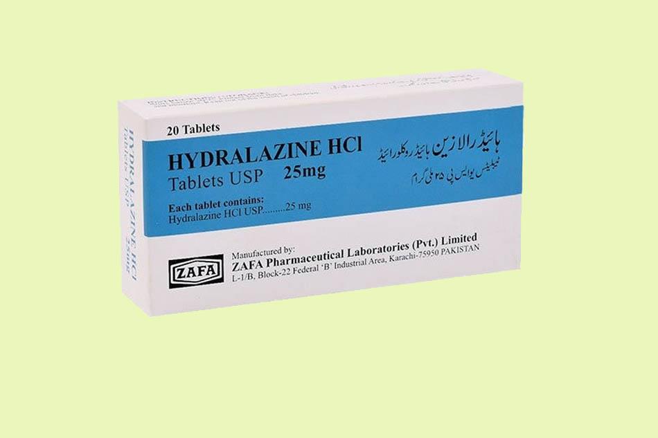 Thuốc Hydralazin