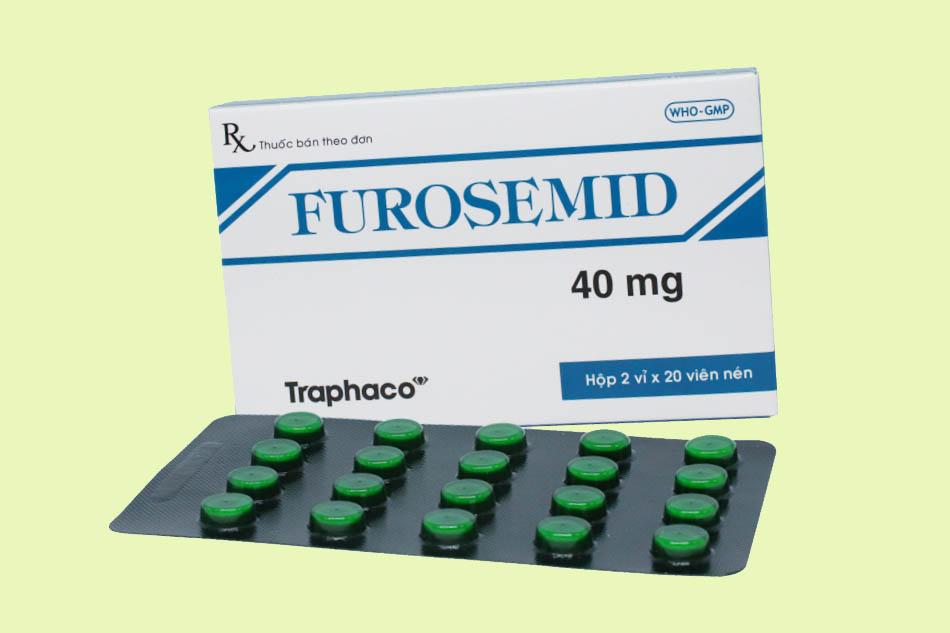 Thuốc lợi tiểu quai Furosemid