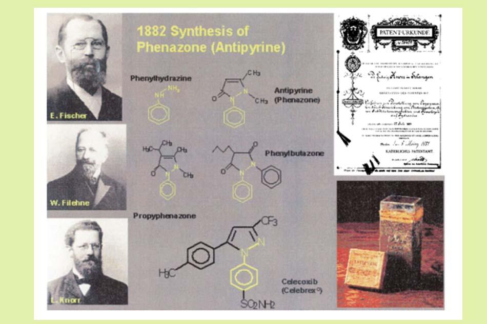 Tổng hợp Phenazone (Antipyrine)